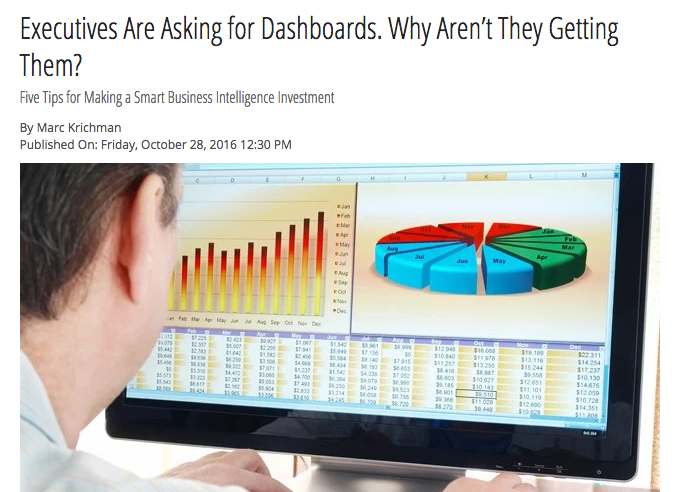 Executives Are Asking for Dashboards. Why Aren't They Getting Them?